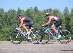 Heerlijke triathlon omstandigheden in Almere